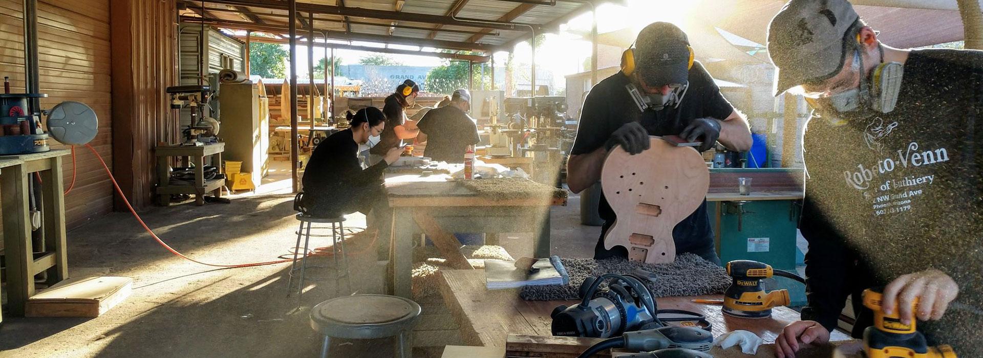 roberto venn guitar making banners img 1415 FAQs