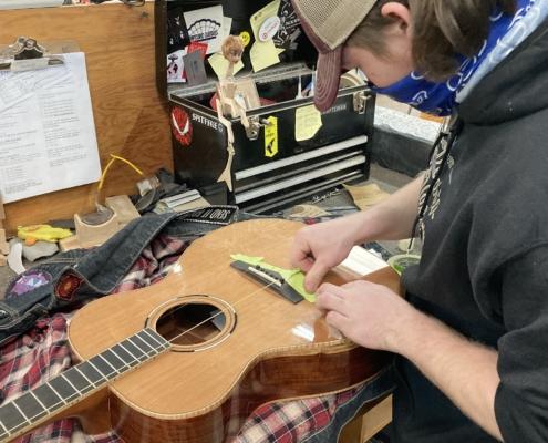 Roberto venn student work Fall 2020 Acosutic 2 495x400 Student Acoustics, Kretzmann Guitar Company & More