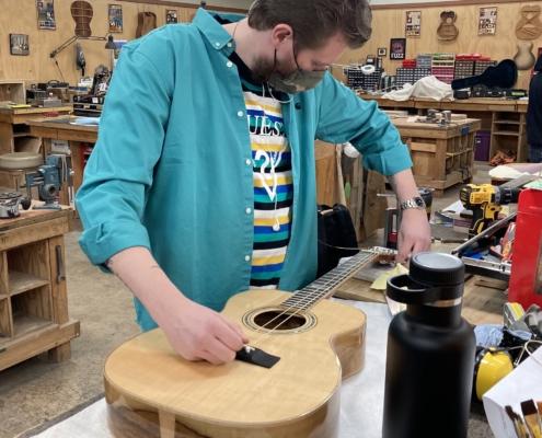 Roberto venn student work Fall 2020 Acosutic 3 495x400 Student Acoustics, Kretzmann Guitar Company & More