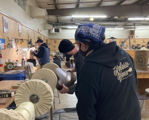 Roberto venn student work Fall 2020 Buffing 495x400 Class is back in session!