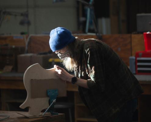 Dust Stevo S2021 495x400 Spring Class 2021   Eisenberg Instruments   Jon Rauhouse Lap Steel Demo