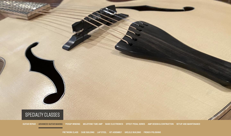 Roberto Venn Advanced Guitar Making Upcoming Specialty Classes