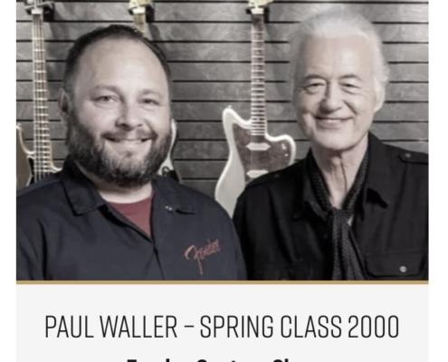 Roberto Venn Featured Alumni Fender Custom Shop 1 495x400 Featured Alumni, Guitar Road Tech Class and Shop Life