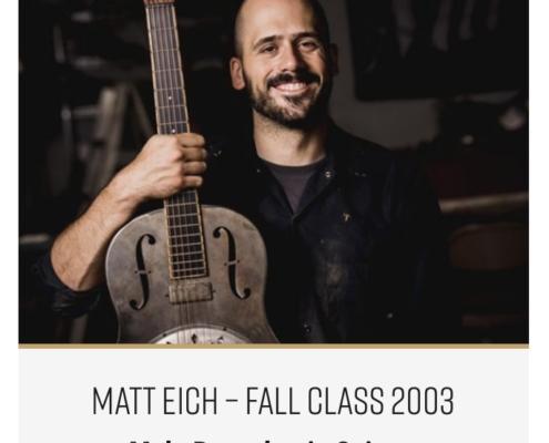 Roberto Venn Featured Alumni Mule Resophonic 1 495x400 Featured Alumni, Guitar Road Tech Class and Shop Life