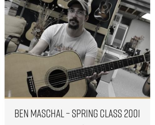 Roberto Venn Featured Alumni Pre War Guitars 1 495x400 Featured Alumni, Guitar Road Tech Class and Shop Life