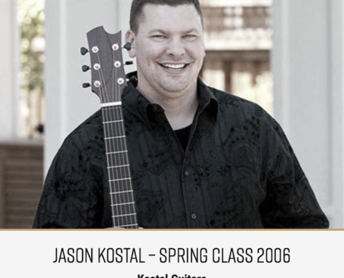 Roberto Venn Featured Alumni Jason Kostal 495x400 Featured Alumni, Guitar Road Tech Class and Shop Life