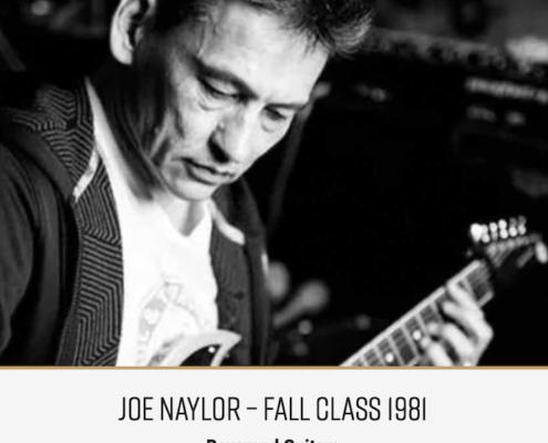 Roberto Venn Featured Alumni Joe Naylor 495x400 Featured Alumni, Guitar Road Tech Class and Shop Life