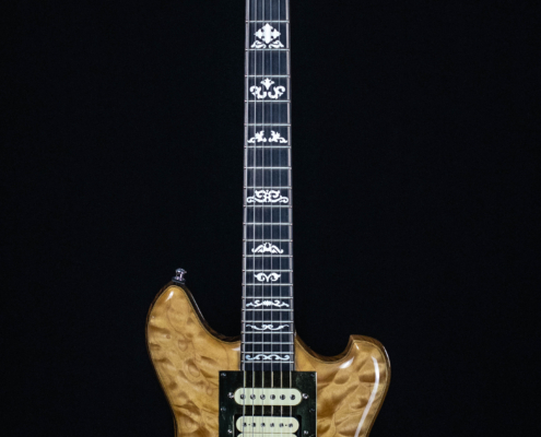 Roberto Venn Reuter Wolf Front 495x400 Baldacci Guitars, Shop Life and Recent Visitors!