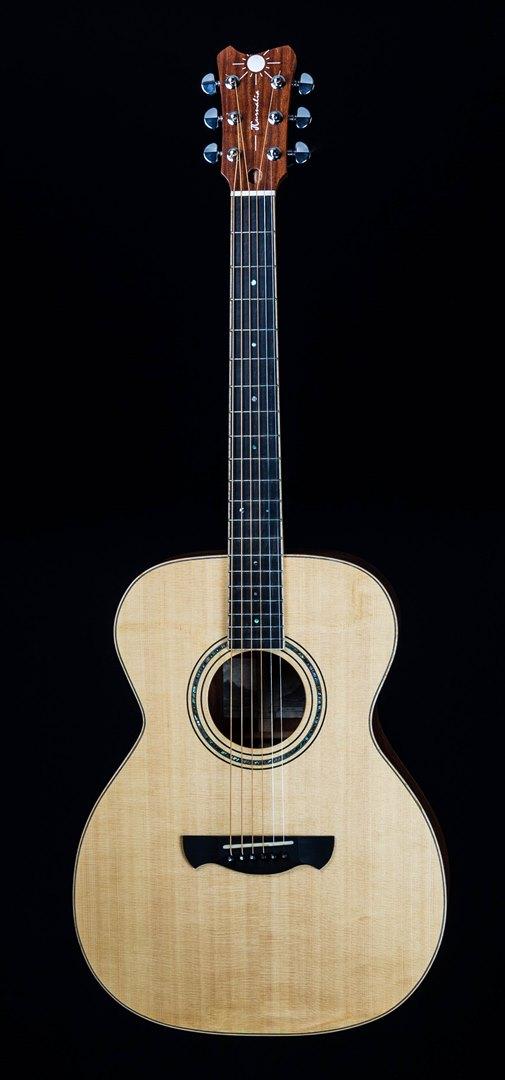 roberto venn student guitar Acoustic Jeremiah front12 Spring 2021