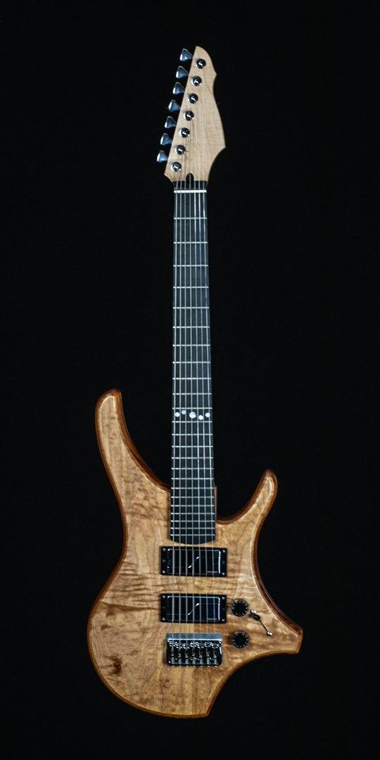 roberto venn student guitar Electric Joe H42 1 Spring 2021